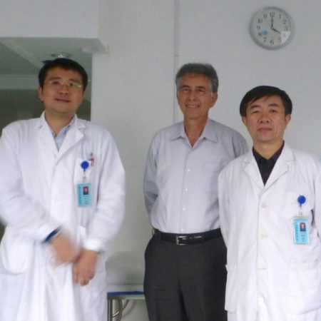 Presenting Laser Therapy at Air Force Hospital in Beijing