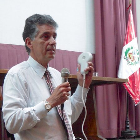 Speaking at Medical Conference, Lima, Peru
