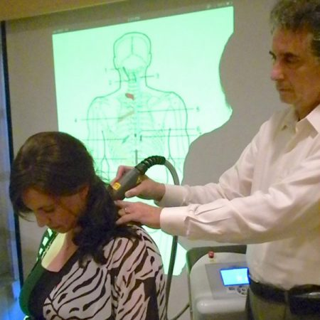 Demonstrating Laser Therapy in Washington DC
