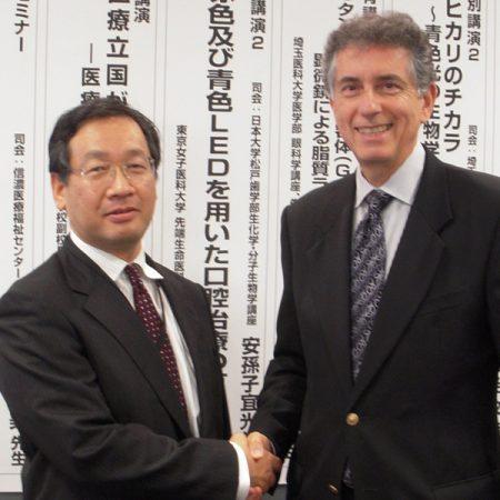 Dr. Nakajima & Nelson at Dental Conference