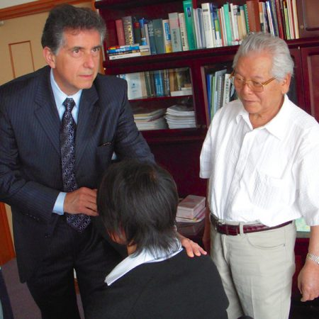 Dr. Yamamoto, Nelson and assistant