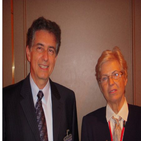 Dr. Nelson Marquina and Dr. Tiina Karu, Russian physicist/laser researcher