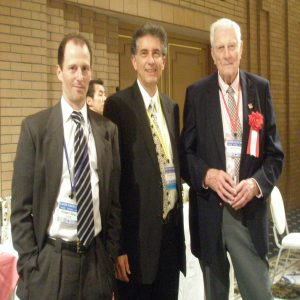With Drs. Robert Gougalof DMD, Kendrick Smith, physicist