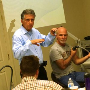 Learning laser therapy